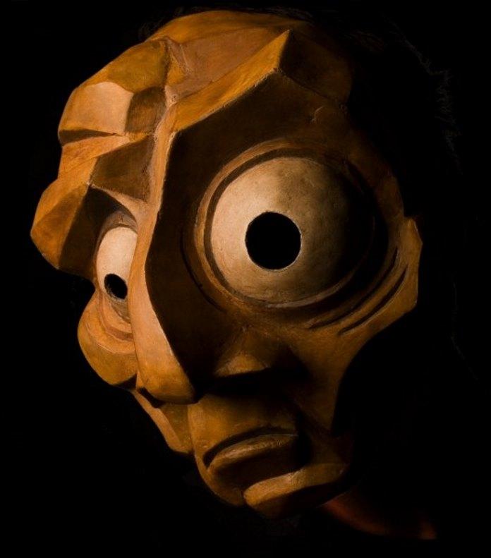 Le masque entier « le fou »